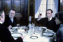 Ian Richardson, Donald Churchill, Denholm Elliott, Martin Shaw