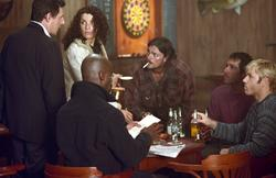 Gabriel Byrne, Julianna Margulies, Ron Eldard, Desmond Harrington, Isaiah Washington, Karl Urban