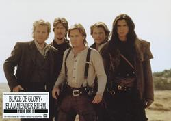 Emilio Estevez, Kiefer Sutherland, Lou Diamond Phillips, Christian Slater, Alan Ruck