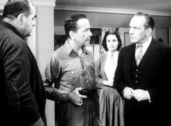 Humphrey Bogart, Martha Scott, Fredric March