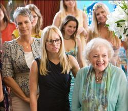 Kristen Bell, Jamie Lee Curtis, Betty White