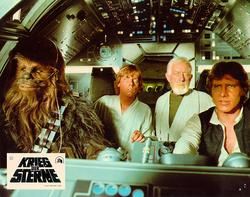 Mark Hamill, Harrison Ford, Alec Guinness
