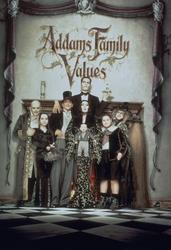 Anjelica Huston, Raul Julia, Christopher Lloyd, Christina Ricci, Carol Kane