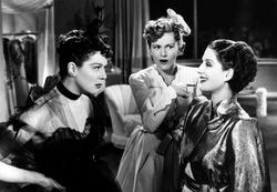 Norma Shearer, Rosalind Russell, Joan Fontaine