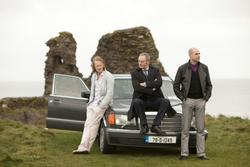 Liam Cunningham, David Wilmot, Mark Strong