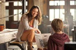 Dakota Goyo, Evangeline Lilly