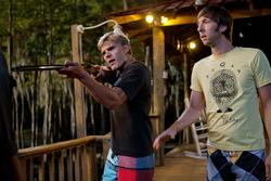 Chris Zylka, Joel David Moore
