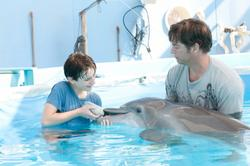 Nathan Gamble, Harry Connick jr.