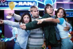 Ashton Kutcher, Sean William Scott, Jennifer Garner, Marla Sokoloff